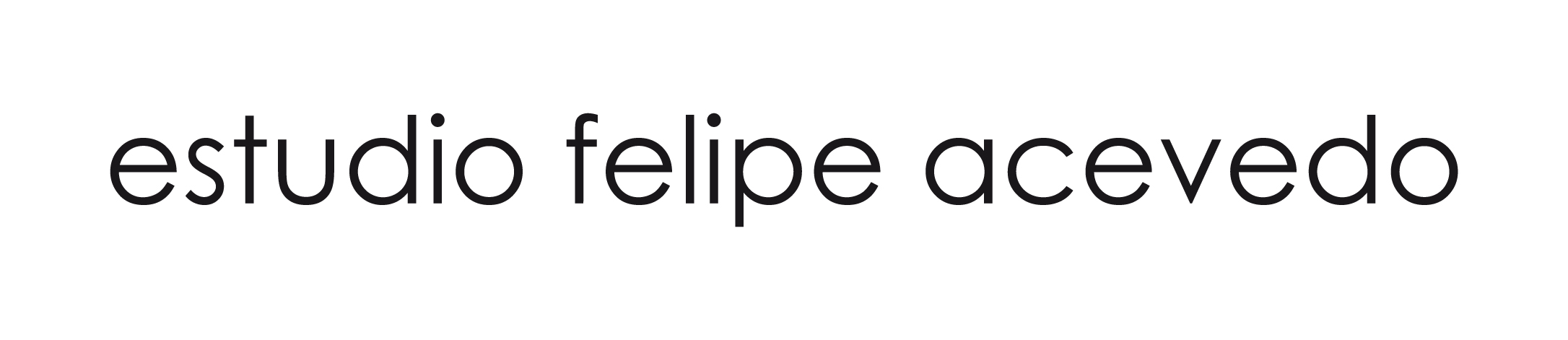 Logotipo del Estudio Felipe Acevedo